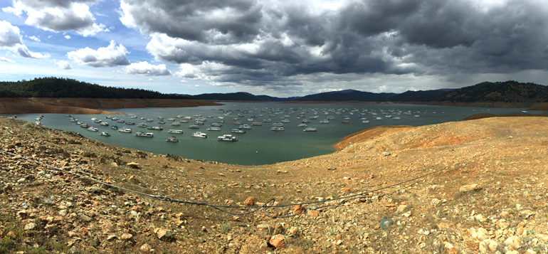 California's Lake Oroville in 2015 (Ray Bouknight/CC-BY-2.0)